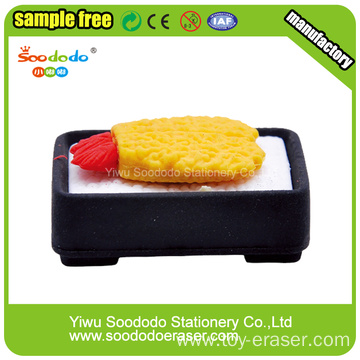 Food Fancy Eraser School Stationery Sets