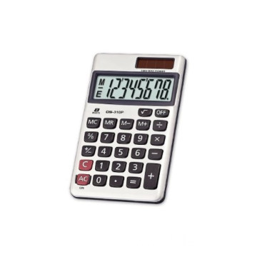 Button Battery Power Office Handheld Calculator