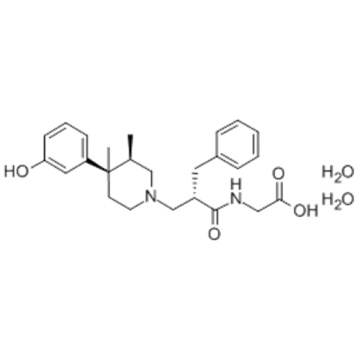 Glycin, N - [(2S) -2 - [[(3R, 4R) -4- (3-Hydroxyphenyl) -3,4-dimethyl-1-piperidinyl] methyl] -1-oxo-3-phenylpropyl] -, Hydrat CAS 170098-38-1