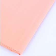 Factory directly provided for Cvc Percale Yarn Dyed Fabric 200T Solid Dyed CVC Percale Fabric supply to Portugal Manufacturer