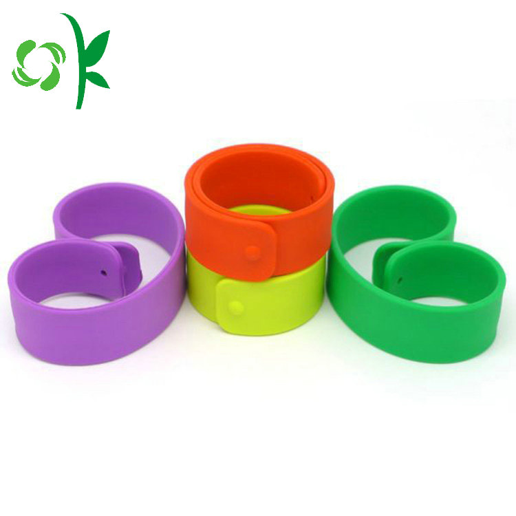 Simple Silicone Slap Bracelet