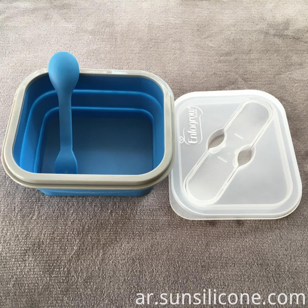 Collapsible Food Container