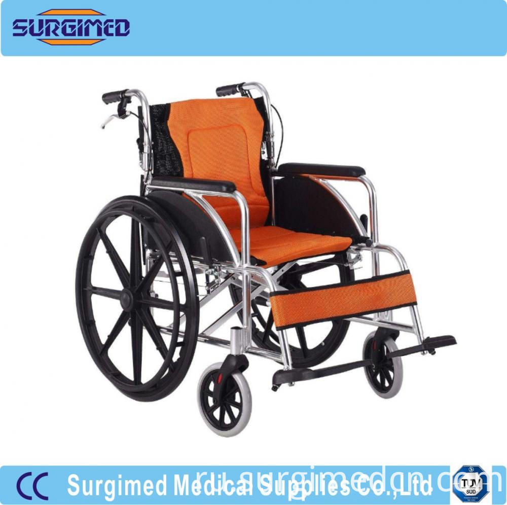 Light Weight Manual Folding Wheel Wheelchair