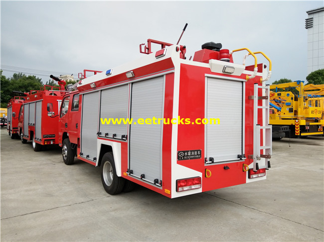 4x2 Used Fire Fighting Trucks