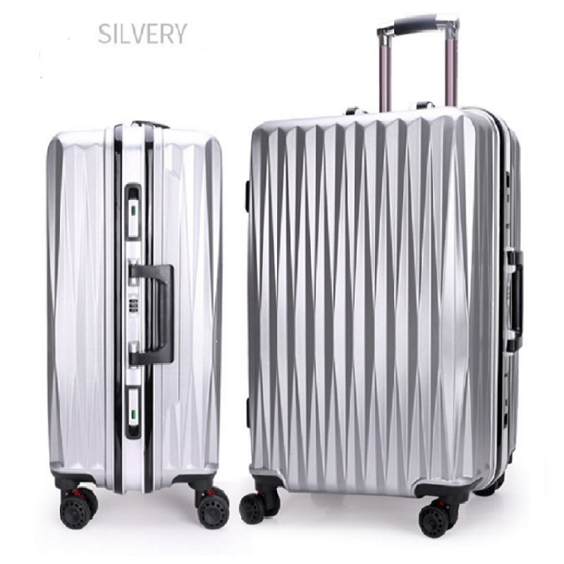 Silvery Trolley Luggage