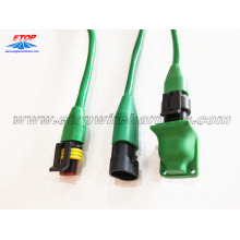 molded IP67 waterproofing 2pin connector 14A