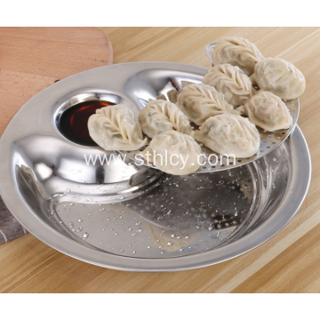Thicken Stainless Steel Dumpling Plates