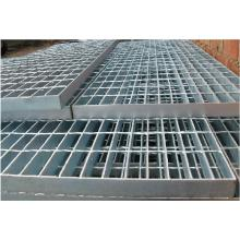 Hot dip galvanized steel grating processing