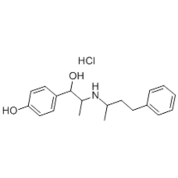 Benzenemethanol,4-hydroxy-a-[1-[(1-methyl-3-phenylpropyl)amino]ethyl]-,hydrochloride CAS 849-55-8