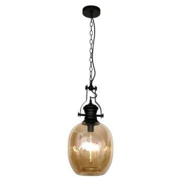 ModernDecorative Glass Hanging Pendant Lamp For Dining Room