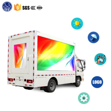 LED screen roadshow truck