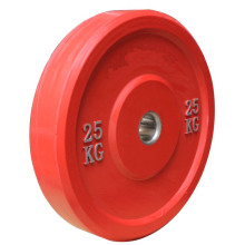 Manufactur standard for Hi-Temp Competition Training Plates Custom Gym Barbell Rubber Bumper Weight Plates export to Switzerland Supplier