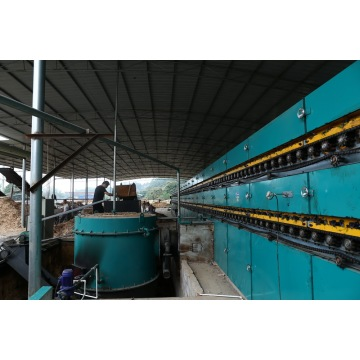 Veneer Dryer in Plywood Drying Machine
