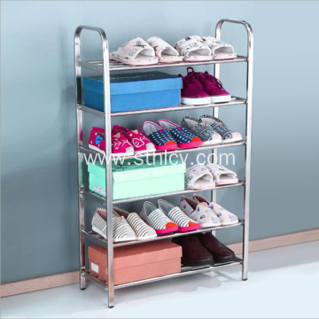 High Quality Stainless Steel Shelving Shoe Rack
