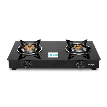 Pigeon Tango 2 Burner Gas Stove Front Glass