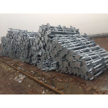 rectangle flange Ground Screw Pile