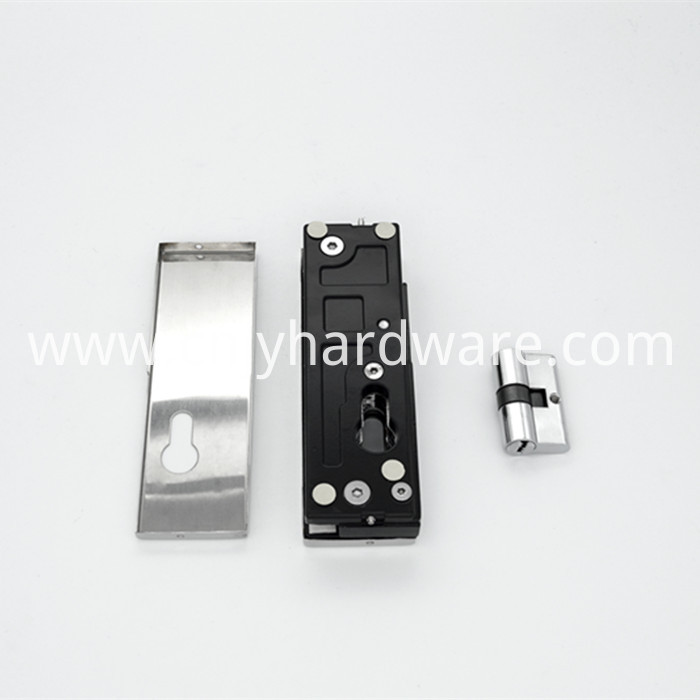 Stainless Steel Glass Door Lock Patch Fitting