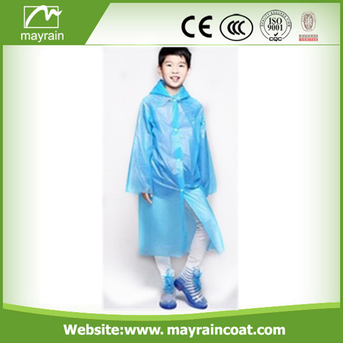 Blue PE Raincoat On Sale