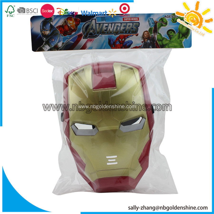 Play Games PVC Mask Toy