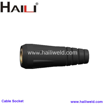 Euro Style Welding Cable Socket