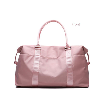 Stylish Sports Folding Pink Women Travel Duffel Bag