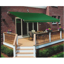 High Efficiency Factory for awning with full cassette/ awning with steel construction Retractable arms awning 3.6*2.0M Green supply to Italy Supplier