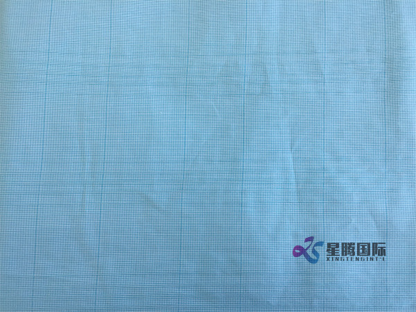 Checked Jacquard Woven 100% Cotton Fabric