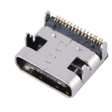 USB3.1 C Type Female single row 16P SMT