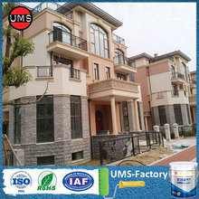 Stone effect exterior acrylic wall paint colours