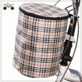 colorful high quality waterproof canvas bicycle basket