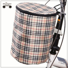 Special colorful high quality waterproof canvas bicycle basket