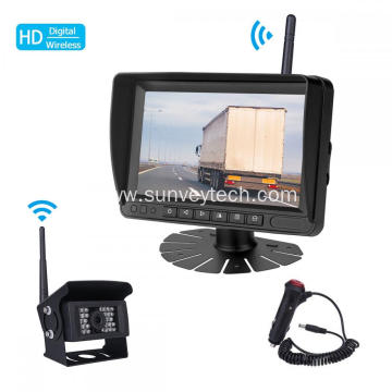 Front Side Rear View Monitor Camera Digital Wireless