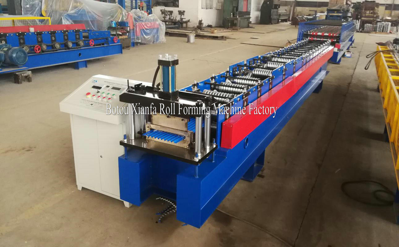 small wave metal roof forming machine