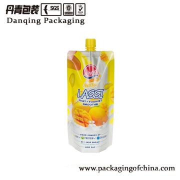 Flexible packaging doyaock spout pouch for juice