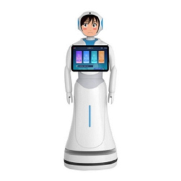 Interactive Talking Bank Robots