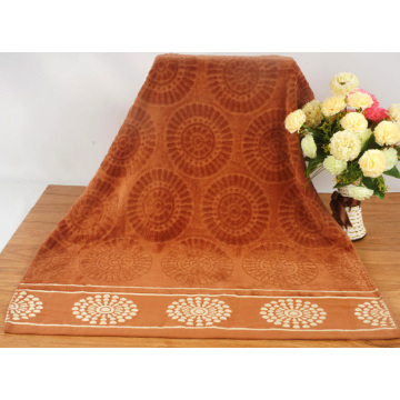 High Quality Decorative Jacquard Bath Towels