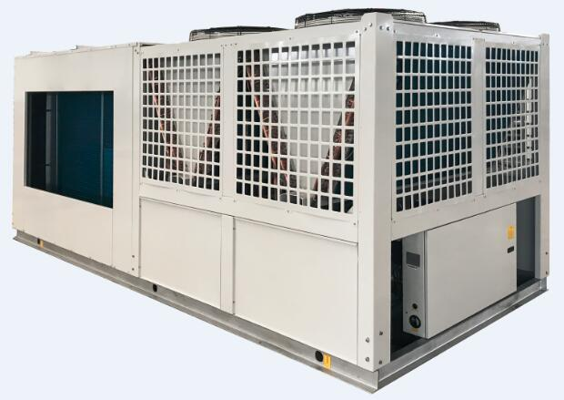 180kW Rooftop Packaged unit with Hot Water Coil