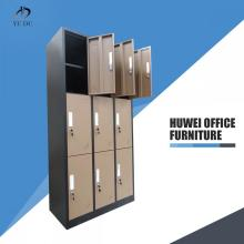 9 Door steel changing room cabinet locker