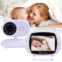Wireless 3.5 inch Video Color Baby Monitor