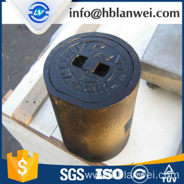 Best Price for for Best Cast Iron Surface Box,Water Meter Box,Cast Iron Valve Box for Sale cast iron GG25 valve box export to French Guiana Factories