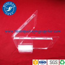 China for New Design Clamshell Packaging Rectangle PET Clamshell Packaging export to Benin Supplier