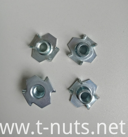 M6 flange The Claw ZP T-nuts