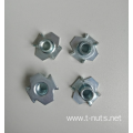 Carbon Steel  M6x15 Hopper Feed Tee Nuts