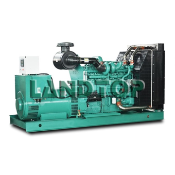 Water-cooled Open Frame Type Yuchai Engine 50kva Generator