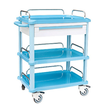 Different color ABS treatment cart