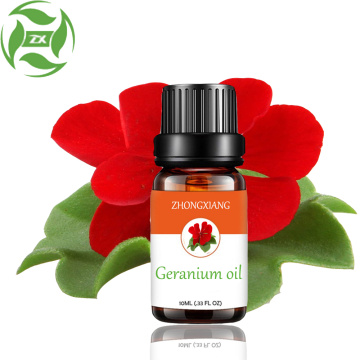 Pure Natural Geranium Essential Oil For Skin Care