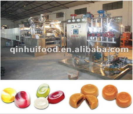 Complete Full-Automatic Candy Production Line