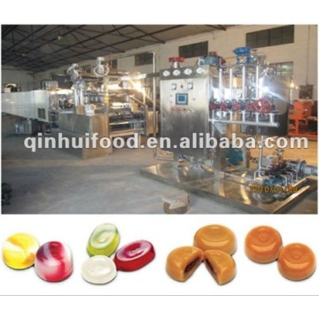 Fast Delivery for Offer Deposited Hard Candy Production Line, Filled Hard Confectionery Production Line in China Complete Full-Automatic Candy Production Line export to Turks and Caicos Islands Exporter