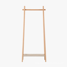 Special for China Cloth Stands,Coat Rack Stand,Wood Coat Rack Manufacturer and Supplier Popular Cloth Standing Hanger Wooden Coat Rack export to Guam Manufacturers