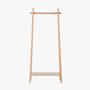 China Factory for for Cloth Stands Popular Cloth Standing Hanger Wooden Coat Rack export to Madagascar Manufacturers